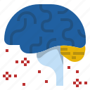 beta, brain, delta, health, meditation, stress, waves icon