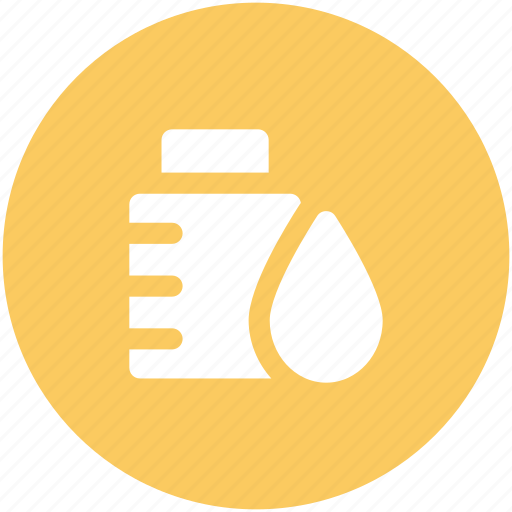 bottle, drugs, liquid medicine, medication, medicine bottle, medicine jar, syrup icon