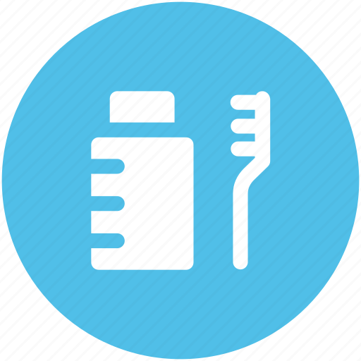 dental care, dental cleanliness, dental hygiene, toothbrush, toothpaste icon