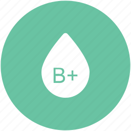 b positive, blood drop, blood group, blood type, genotype, human blood, lifeblood icon