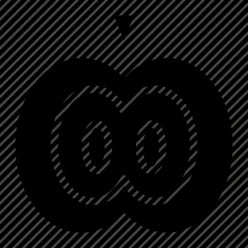 apple, diet, food, fruit, vegetarian icon