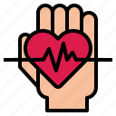 care, disease, health, heart icon