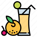 drink, food, fruit, juice, vegetarian icon