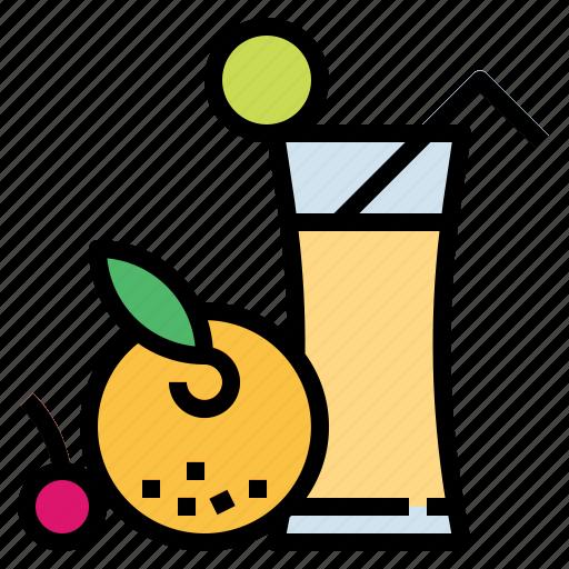 drink, food, fruit, juice, vegetarian icon