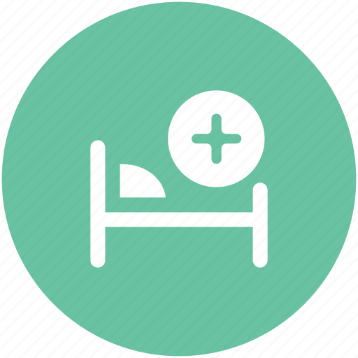 healthcare, hospital, hospital bed, medical aid, medical bed, patient bed, ward icon