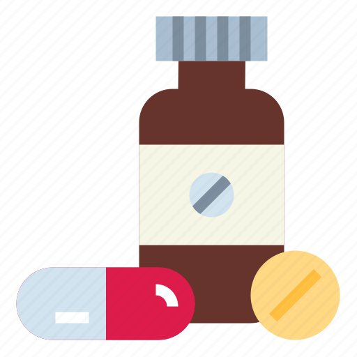 antibiotics, medicines, pill, tablet icon