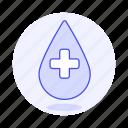 bloodbank, cross, blood, drop, health, donation, white