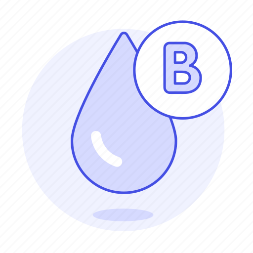 b, blood, classification, drop, health, type icon