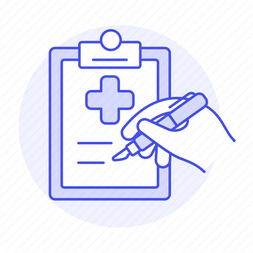 1, care, case, clipboard, cross, hand, health, hospital, information, patient, pen, record, red, report icon