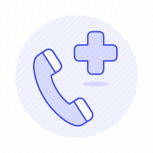 ambulance, call, cross, emergencies, health, help, paramedic, phone, red, services icon