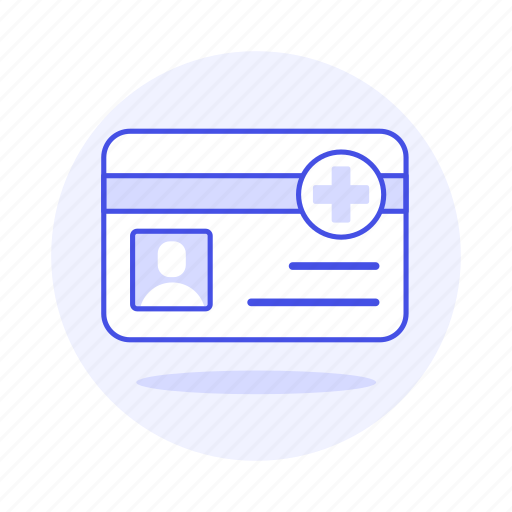 1, access, benefits, card, health, id, insurance, medical, services, treatment icon
