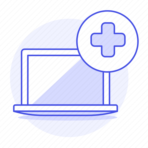 2, appointment, clinic, health, hospital, information, laptop, medical, medicine, software icon