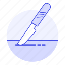1, bistoury, cuts, health, incision, intervention, knife, medical, scalpel, skin, surgery icon