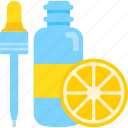 beauty, cream, health, lemon, mask icon