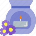 bank, beauty, flower, health icon