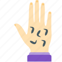 beauty, hand, health, leeches, massage icon