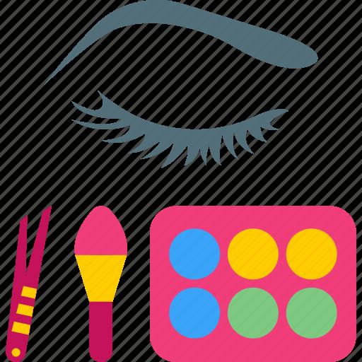 beauty, eye, health, makeup icon