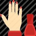 beauty, hand, health, manicure