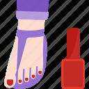 beauty, foot, health, pedicure