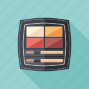 beauty, brushes, cosmetic, lipstick, liquid, makeup, palette icon