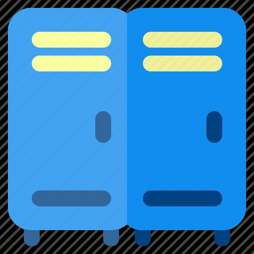 Fitness, gym, health, locker, sport icon - Download on Iconfinder