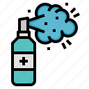 alcohol, cleaning, health, hygiene, spray