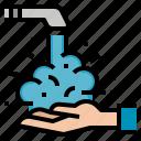 cleaning, hand, health, hygiene, wash