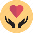 beat, hands, healthy, heart icon