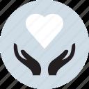health, healthy, hearth, love icon