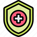 emergency, health, healthy, hospital, protection icon