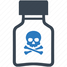 bottle, drug, medicine, poison, tube icon