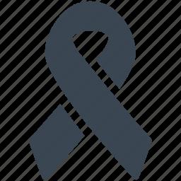 awareness ribbon, breast cancer, ribbon icon