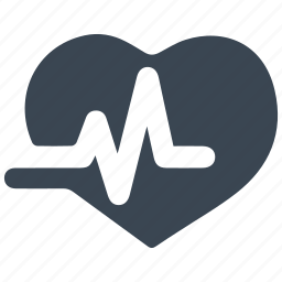 cardiogram, heart care, heart health, pulse icon