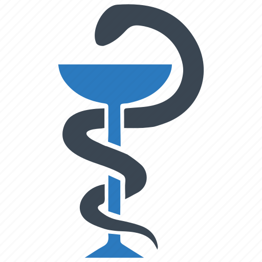 health care, healthcare, pharmacy, snake icon