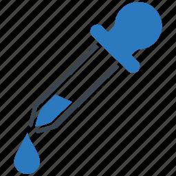 dropper, healthcare, pipette icon