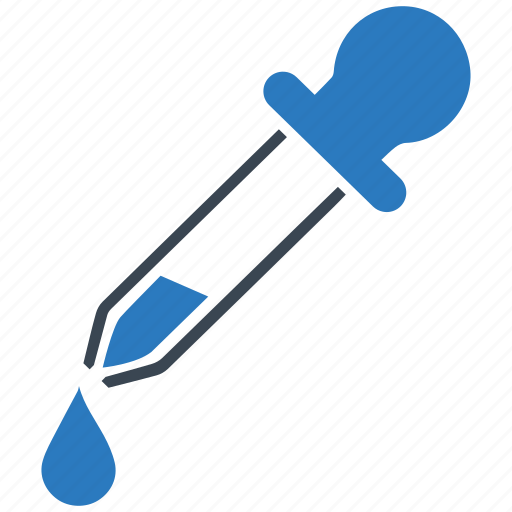 dropper, healthcare, pipette icon