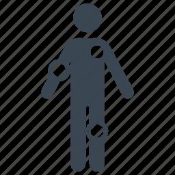 diagnosis, healthcare, patient, symptom checker icon