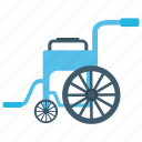 disability, handicap, paraplegic, patient chair, wheelchair icon
