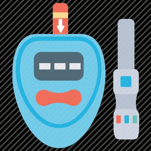 blood glucose, blood sugar, diabetes, diabetic testing, glucose meter icon