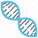 dna, dna helix, dna test, genes, genetics icon