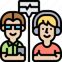 audiogram, hearing, listening, test, healthcare