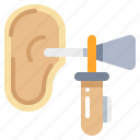 checkup, ear, listen, organ icon