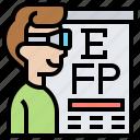examination, eye, eyesight, optometry, test