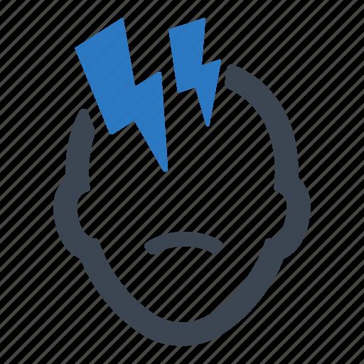 Head, headache, pain icon - Download on Iconfinder