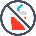 forbidden, no drink, glass, no beverage, prohibition icon, drink not allowed