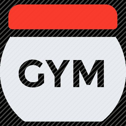 bodybuilding, dietary, gym, medicine, supplements icon icon
