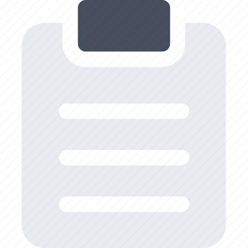 clipboard, equipment, fitness, gym, sport, workout icon icon