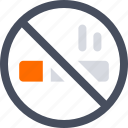 cigarette, no, no smoking, smoking icon icon