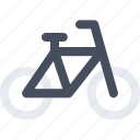 bicycle, cycle, exercise, fitness icon icon