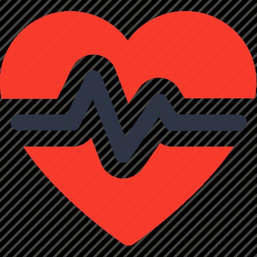 healthcare, heartbeat, medical, pulse icon icon